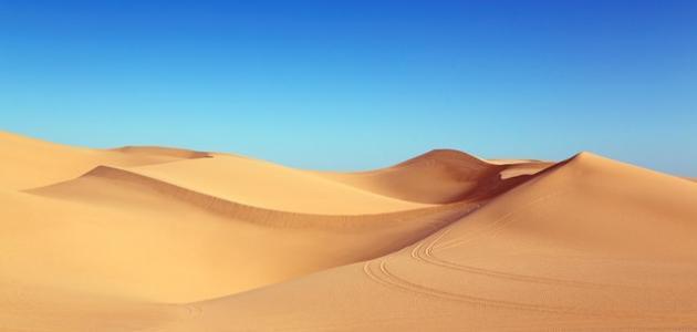 ما هي خصائص المناخ الصحراوي