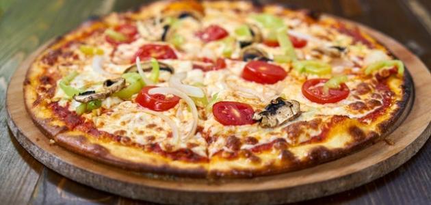 كيفية تحضير البيتزا الإيطالية
