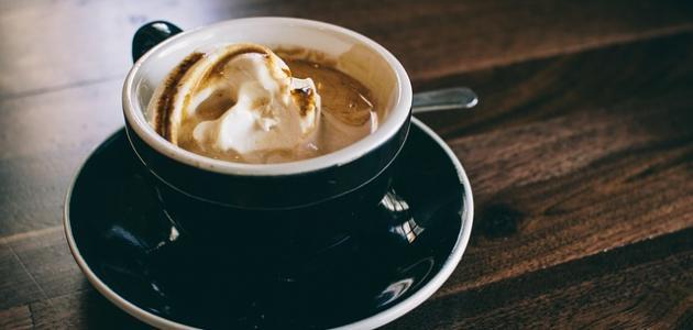 طريقة عمل القهوة الحلوة بالحليب