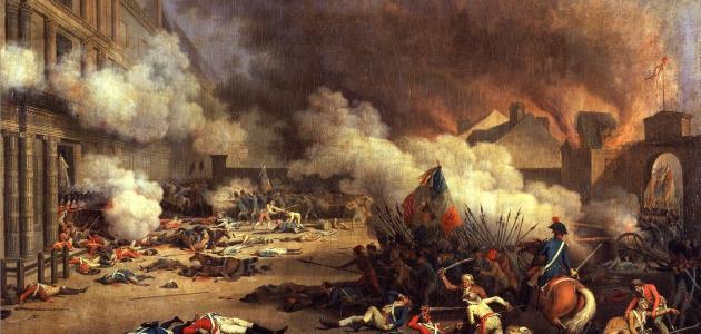 ما معنى الثورة الفرنسية