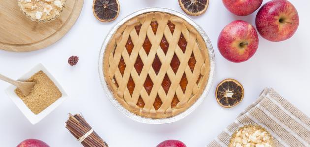 كيفية تحضير فطيرة التفاح