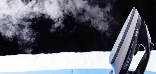 كيفية تنظيف سطح المكواة البخار
