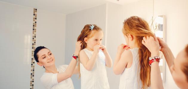 كيفية التعامل مع شعر الأطفال