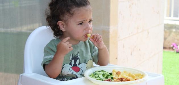 كيفية زيادة الوزن عند الطفل