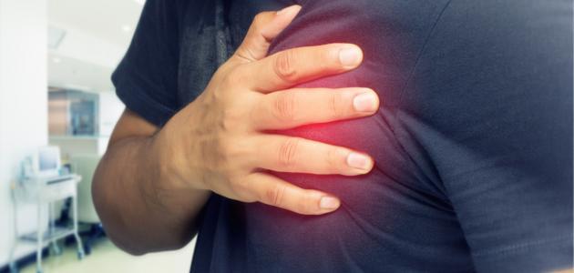 أعراض التهاب شرايين القلب
