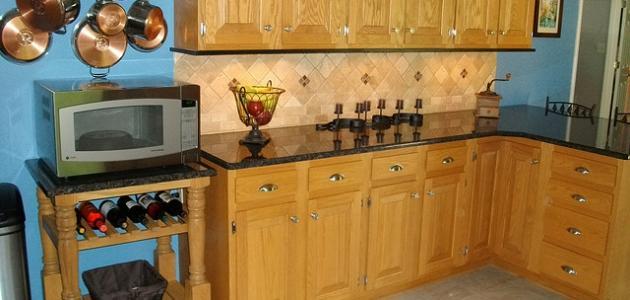 كيف أنظف خزائن المطبخ
