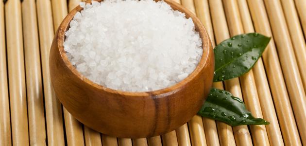ما فائدة الملح للوجه