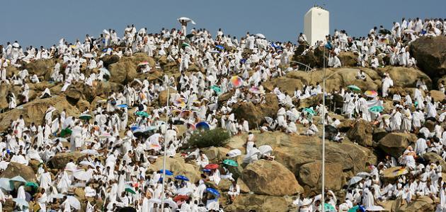لماذا سمي جبل عرفات بهذا الاسم موضوع