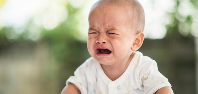 التهاب حلق الرضيع