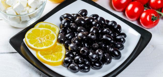 كيفية تحضير الزيتون الأسود