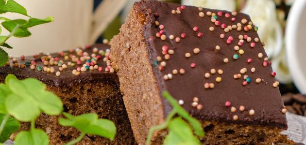 كيفية صنع كيك الشوكولاتة