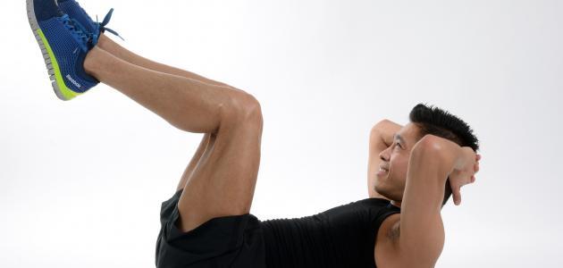 كيفية التخلص من دهون البطن والصدر للرجال