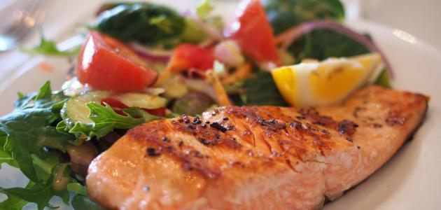 كيفية تحضير سمك السلمون