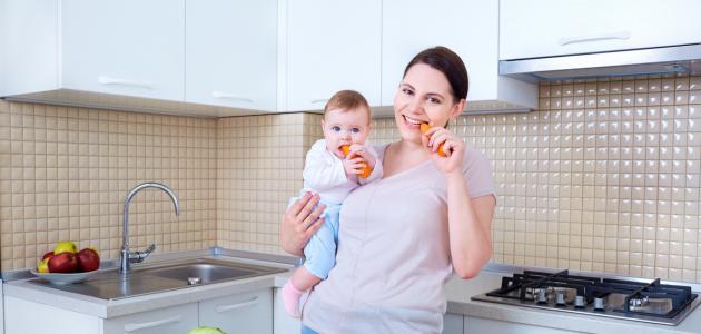 كيفية زيادة الوزن للمرضع