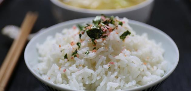 كيفية عمل الأرز الأبيض العادي