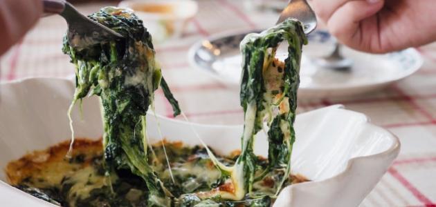 كيفية طبخ السبانخ المجمدة