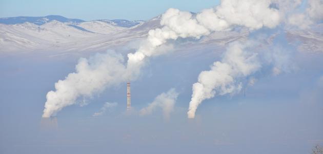 آثار تلوث الهواء على البيئة
