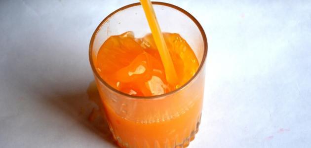 طريقة عمل عصير برتقال مركز