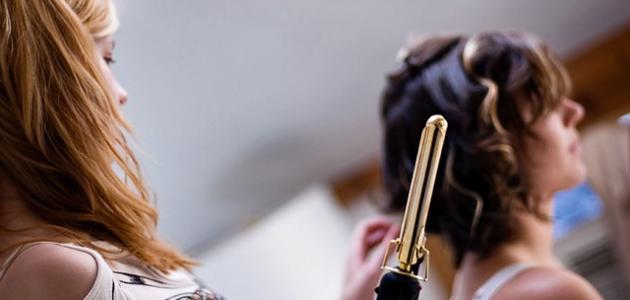 طريقة سهلة لتجعيد الشعر الناعم