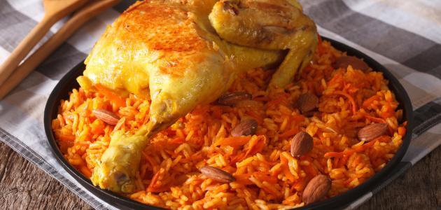 كيفية عمل أرز الكبسة