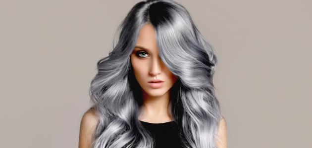 كيفية صبغ الشعر باللون الرمادي