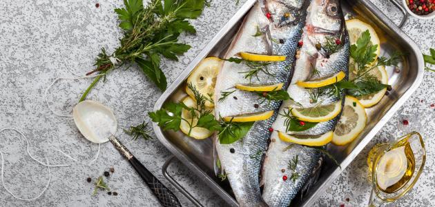 كيف أطبخ السمك