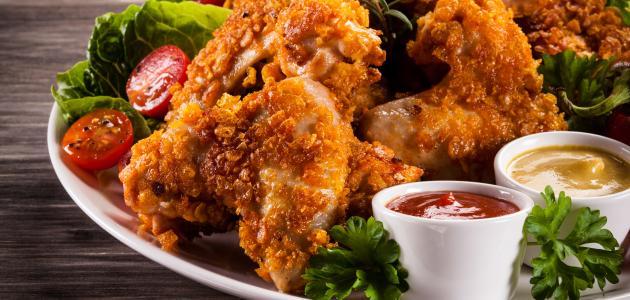 كيفية تحضير دجاج مقلي