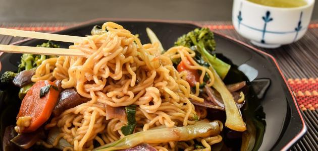 أكل ياباني سريع التحضير