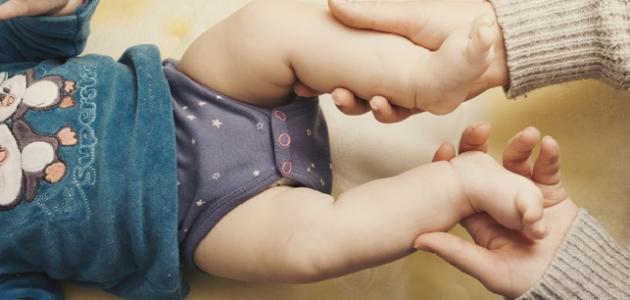 كيفية التخلص من غازات الرضيع