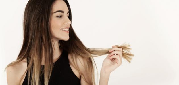 كيفية التخلص من دهون الشعر دون غسله