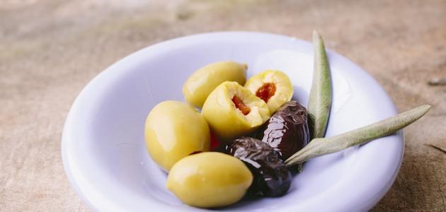 كيفية صنع مخلل الزيتون