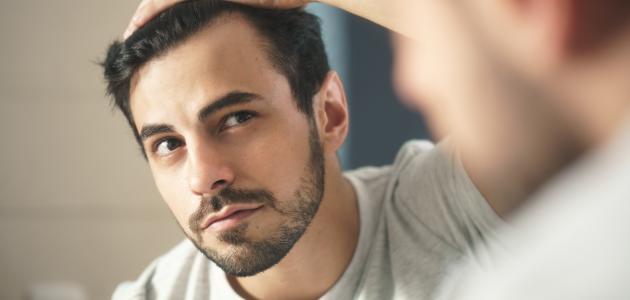 كيفية علاج سقوط الشعر عند الرجال
