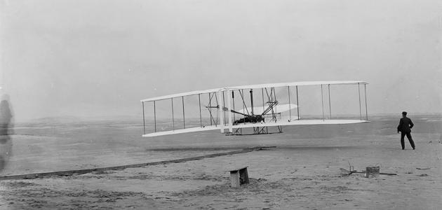 أول رحلة طيران في العالم