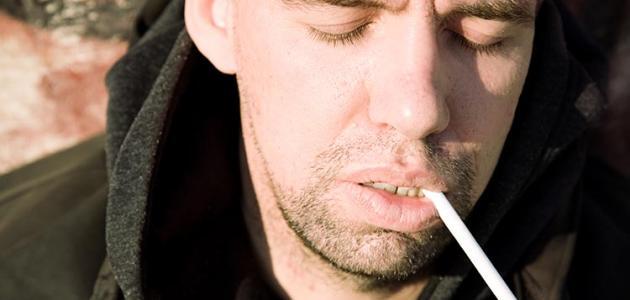 التدخين والنوم