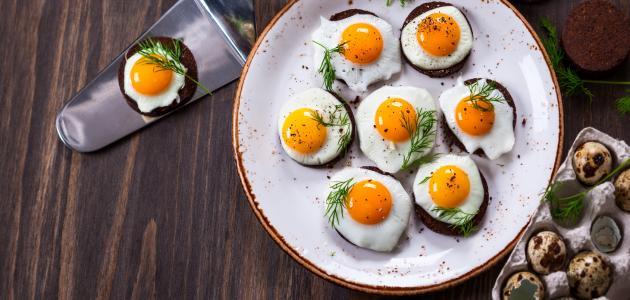 كيف اطبخ البيض