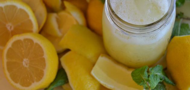 كيف أحفظ عصير الليمون