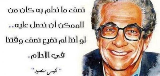 حكم أنيس منصور