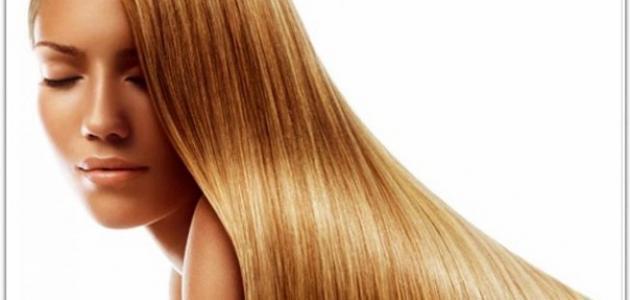 كيف تجعل شعرك رطباً