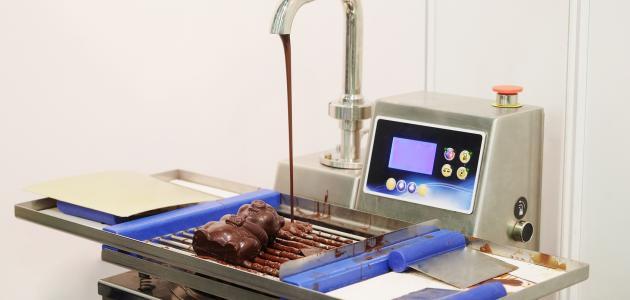 كيفية صناعة الشوكولاتة في المصانع