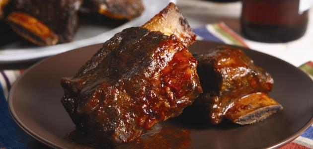 طريقة اللحم في الفرن