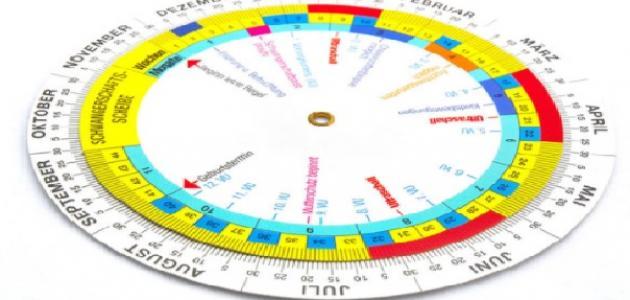 كيفية حساب أشهر الحمل