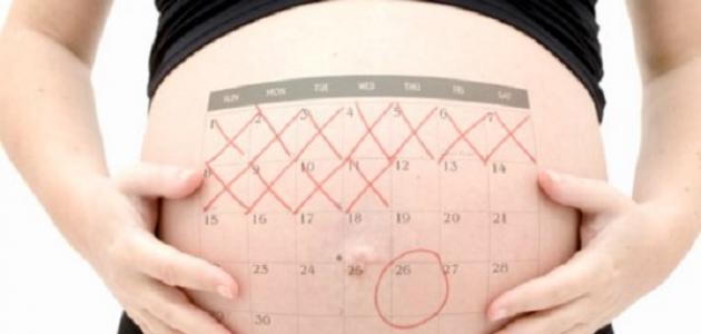 كيف حساب الحمل بالأسابيع
