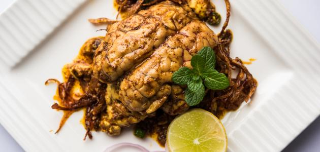 طريقة طبخ مخ العجل