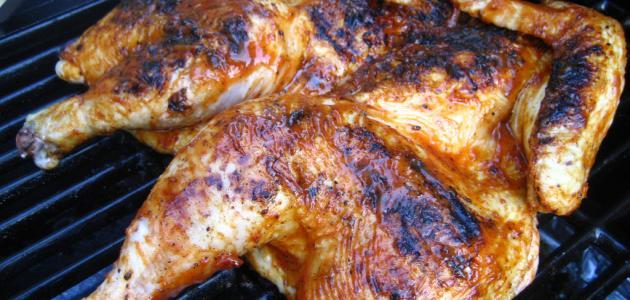 كيفية إعداد دجاج محمر