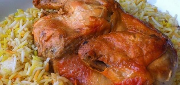 طريقة مظبي الدجاج