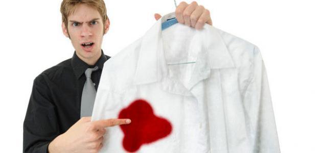 كيف أزيل الدم عن الملابس