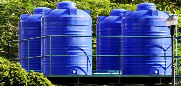 كيف أنظف خزان الماء