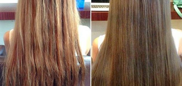 كيف أفتح شعري دون سحب لون