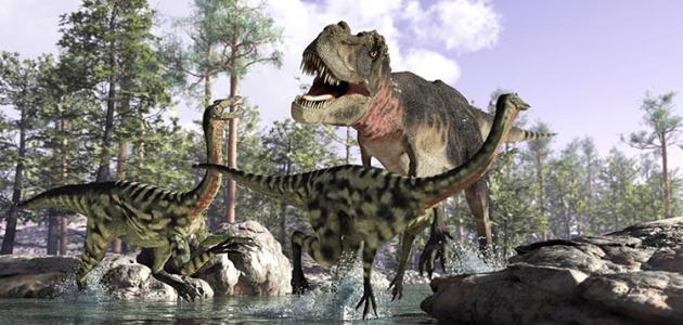 عصر الديناصورات موضوع