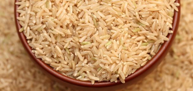 كيفية طبخ الرز الاسمر